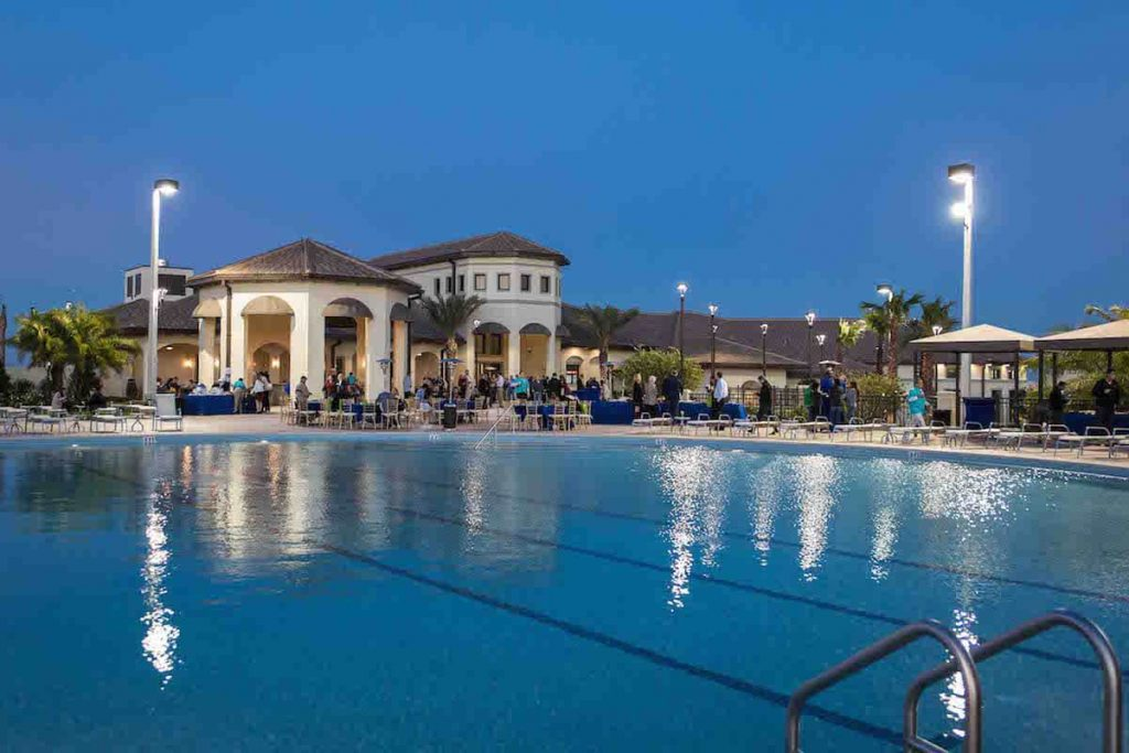 Championsgate Resort Orlando Oasis Club Clubhouse and Pool